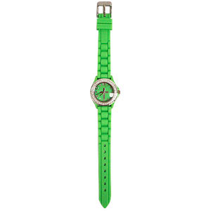 Lime Silicon Watch