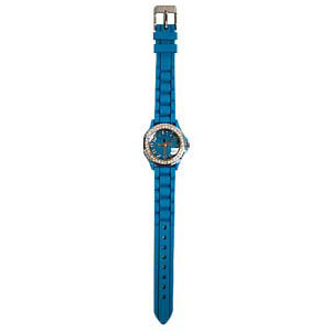 Turquoise silicon watch