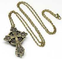 Crucifix  Cross Necklace or Pocket Watch