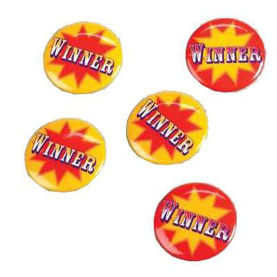 Winner Buttons (Pkg of 6)