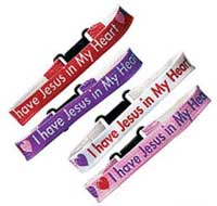 Jesus in My Heart Bracelets