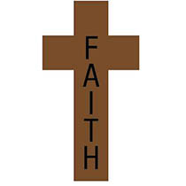 Faith Wood Cross Necklace