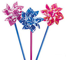 Chukdren's Easter Inspirational Pinwheels