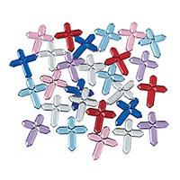 Mini Self-Adhesive Cross Jewels
