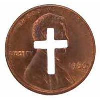 Cross US Pennies Copper Genuine