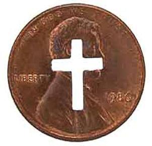 Cross US Pennies Copper Genuine