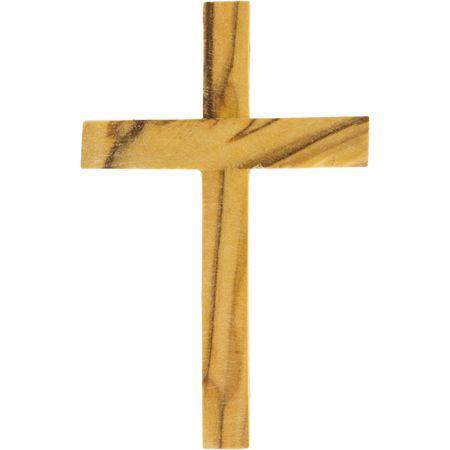 Olive Wood Pocket Crosses from Israel (Pkg of 6)