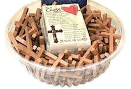Inexpensive wood crosses
