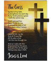 Hematite Cross and The Cross Card