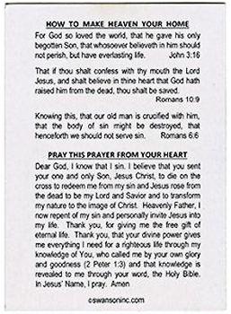 Hematite Cross and The Cross Faith Card