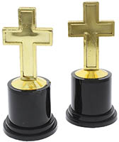 Gold Cross Award Trophy