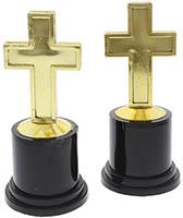 Gold Cross Award Trophy