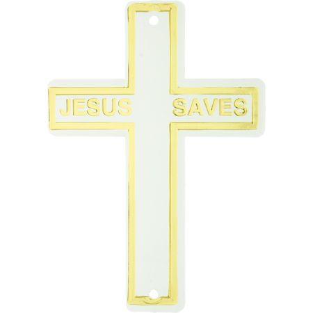 Jesus Saves Christmas Tree Ornament