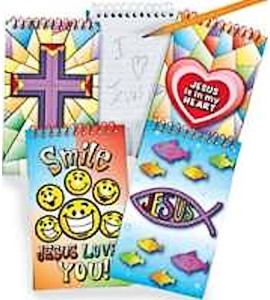 Christian Notepads Pocket Size, Opens Flat