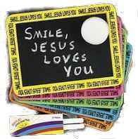 Smile! Jesus Loves You! Individual Chalkboard Sets