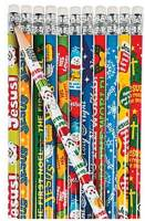 Christmas Holiday Pencils 12 Pack