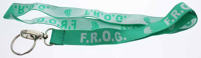 F.R.O.G. Fully Rely On God Neck Lanyard
