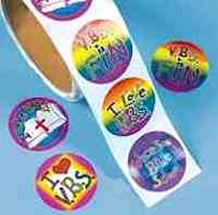 Vacation Bible School  Stickers VBS (100)