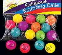 Jesus Loves You! Bouncing Balls (Pkg of 48)