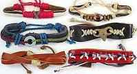 Youth Genuine Leather Bracelets (Assorted)