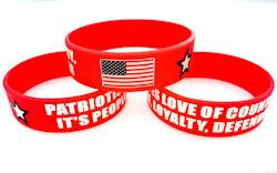 Patriotism Is Silicone Bracelet - USA