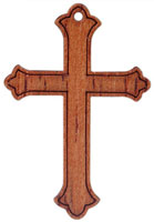 Budded Wood Crosses Pack 25