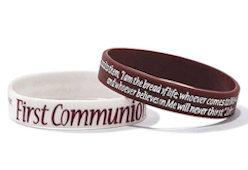 1st Communion Silicone Bracelet