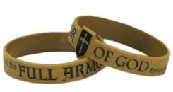 Armor Of God Silicone Bracelet